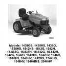 PDF John Deere 1438,1538,1542 To 646,1742,1846,2046 Sabre Tractor Technical Manual TM1769