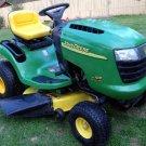 PDF John Deere L100 To L111 Lawn Tractor Technical Service Manual (TM2026)