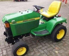 PDF John Deere 415, 455 Lawn and Garden Tractors Repair Technical Service Manual TM1836)