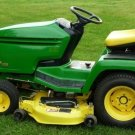 PDF John Deere GX325 To GX255 Lawn and Garden Tractor Technical Service Manual (TM1973)