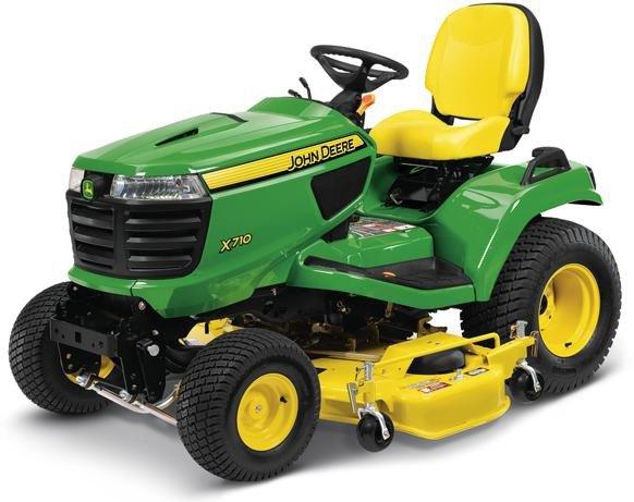 PDF John Deere X710, X730, X734, X738, X739 Signature Series Tractor Technical Manual TM122719