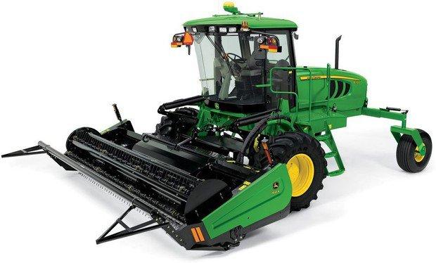 PDF John Deere W150 Self-Propelled Hay&Forage Windrower Repair Technical Manual (TM122219)