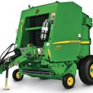 PDF John Deere 449, 459 Standard Hay and Forage Round Balers Technical Manual (TM121019)