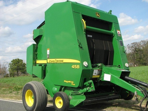 PDF John Deere 448 and 458 Standard Hay and Forage Round Repair Technical Manual (TM1734)