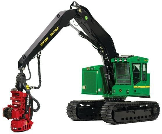 PDF John Deere 703JH 753JH 759JH  Tracked Harvester Service Repair Technical Manual TM10525