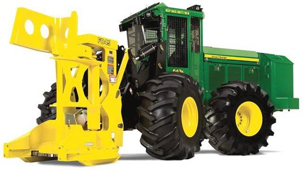 PDF John Deere 643K Wheeled Feller Buncher Operation and Test Service Manual (TM11361)