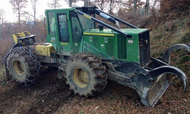 PDF John Deere 540H Cable Skidder and 548H Grapple Skidder Service Repair Manual (TM11330)
