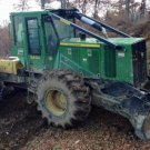 PDF John Deere 540H Cable Skidder and 548H Grapple Skidder Service Repair Manual (TM11810)
