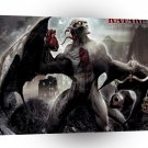 Abstract Horror Kataklysm Arms Demastation A1 Xlarge Canvas