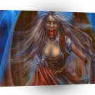 Abstract Horror Vampire Angel A1 Xlarge Canvas