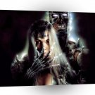 Abstract Horror Xena Ghost Warrior A1 Xlarge Canvas