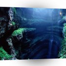 Abstract Landscape Deep Down Magestic Cave A1 Xlarge Canvas