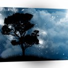 Abstract Landscape Galaxy Planet Treetops A1 Xlarge Canvas