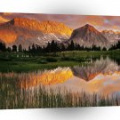 Abstract Landscape National Park Reflection A1 Xlarge Canvas