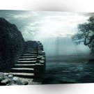 Abstract Landscape Stairway To Heaven A1 Xlarge Canvas