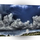 Abstract Landscape The Building Clouds A1 Xlarge Canvas