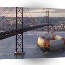 Abstract Landscape Tug Of Life San Francisco A1 Xlarge Canvas