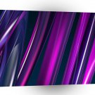 Abstract Purple Hoops A1 Xlarge Canvas