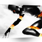 Abstract Robots Extreme Athlete A1 Xlarge Canvas