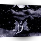Abstract Sci Fi Fairy Of The Skies A1 Xlarge Canvas