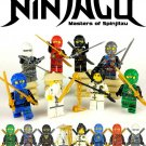 Ninjago: Masters of Spinjitzu 8pc Custom Minifigures Set - USA SELLER