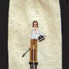 Equestrian Girl By The Girls Oatmeal Knee High Socks