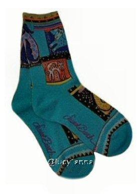 Laurel Burch Mythical Dogs Socks