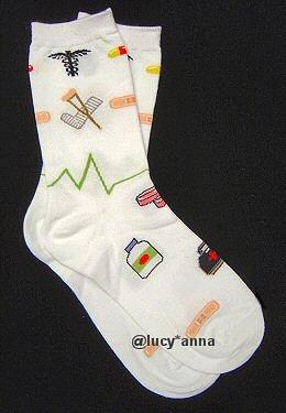 K.Bell Medical Design Socks