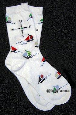 K.Bell Sailing Design Socks