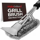 BBQ Cleaning Brush Scraper Including Weber Stainless Steel Wire Bristles 18 Inch