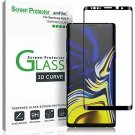 Samsung Galaxy Note 9 Tempered Glass Anti-scratch Bubble Free 3D Curve Black