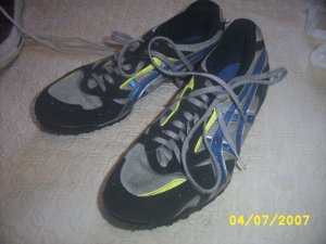 AasicsTrack spikes W-9 M 7 Gently used shoes