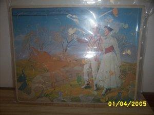 Walt Disney Mary Poppins Puzzel Whitman Toys1964