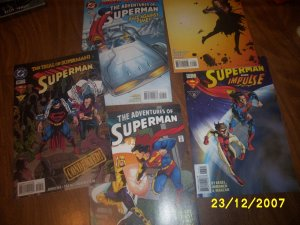 Comics Superman  x 5   Check out all our stuff