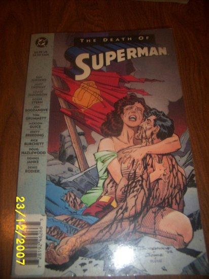 Comic Death of Superman x 1