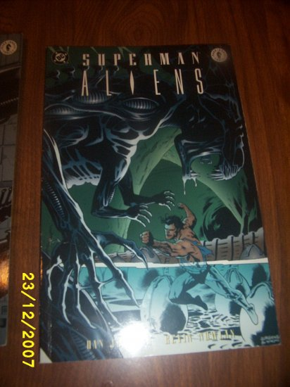Comic SupermanAliens  book 3 of 3   x 1