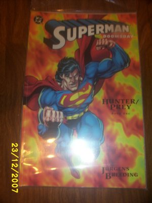 Superman Doomsday  book 1 comic Gently used