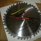 Menards SawBlade Wall Clock