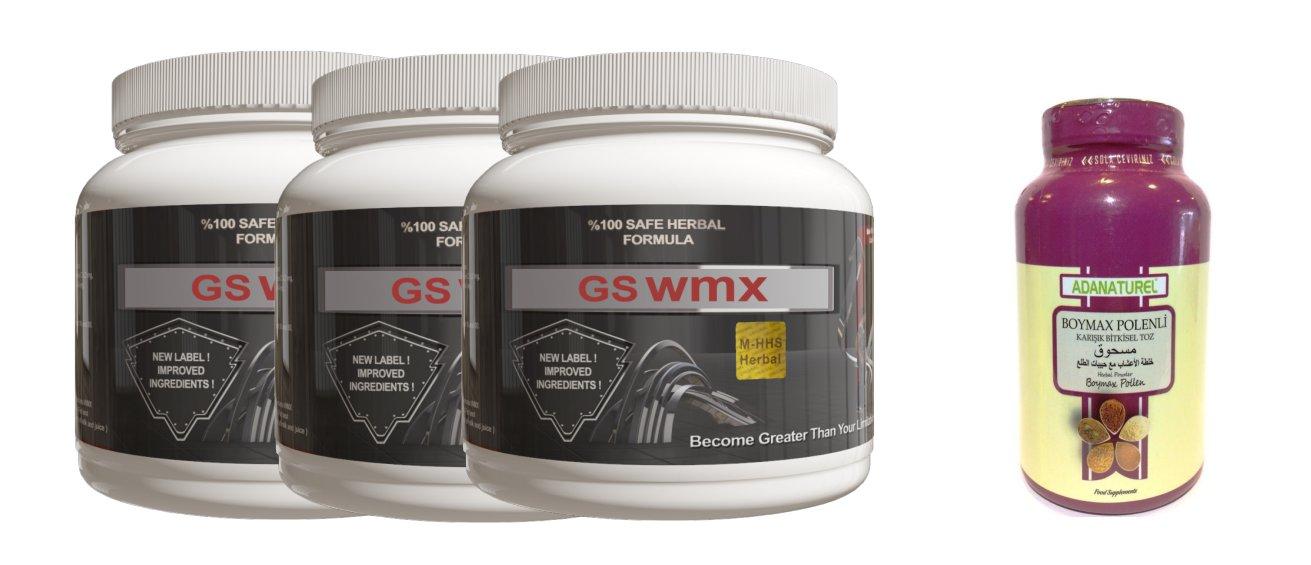 Gs wmx 3 Pots/months supply powder form