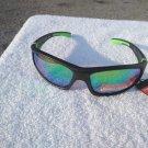 PiRanha Eyewear FLX-T Technology Sunglasses Black/Lime Green 100% UV 3021