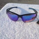 PiRanha Eyewear FLX-T Technology Sunglasses Black /Dark Blue 100% UV 3056