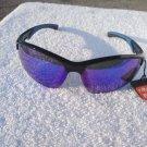 PiRanha Eyewear FLX-T Technology Sunglasses Black/Dark Blue Green 100% UV 3089