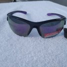 PiRanha Eyewear FLX-T Technology Sunglasses Black/Purple 100% UV 3020