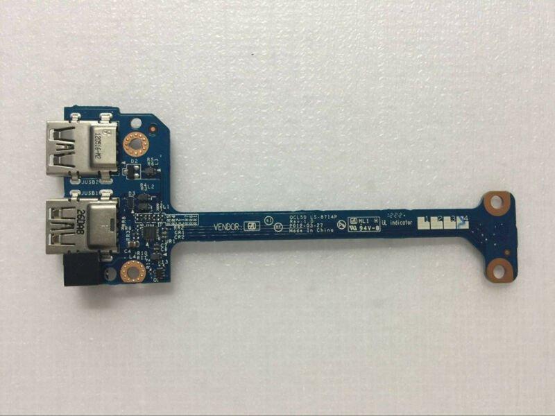 New for HP envy M6-1000 pavilion m6-1000 series laptop USB port board LS-8714P