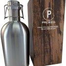 PROKEG - Stainless Steel Beer Growler 64oz 2L Flip Top Single Wall PREMIUM