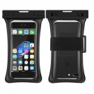 RANVOO [Floating] Waterproof Phone Pouch, Dry Bag Case, Black