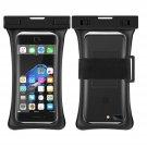 RANVOO [Floating] Waterproof Phone Pouch, Dry Bag Case, Black
