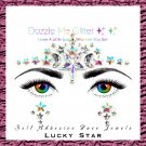 Lucky Star - Reusable self adhesive face and body gems