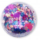 Love is Love - Loose Holographic Pride Themed Chunky Glitter in Blue, Pink and Purple