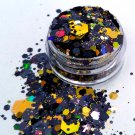 Black Magick - Halloween Themed Chunky Loose Glitter Mix